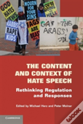 The Content And Context Of Hate Speech