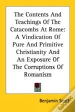 The Contents And Teachings Of The Cataco