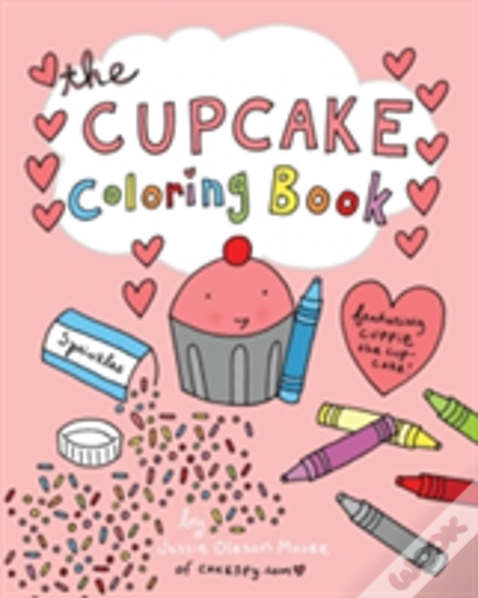 The Cupcake Coloring Book