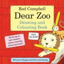 The Dear Zoo Drawing And Colouring Book