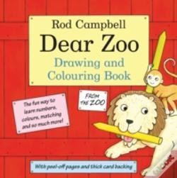 Wook.pt - The Dear Zoo Drawing And Colouring Book