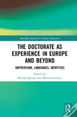 Wook.pt - The Doctorate As Experience In Europe And Beyond