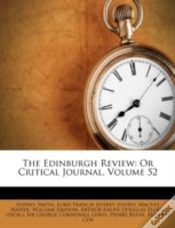 Wook.pt - The Edinburgh Review: Or Critical Journal, Volume 52