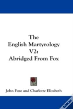 Wook.pt - The English Martyrology V2: Abridged Fro