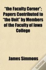 'The Faculty Corner'; Papers Contributed