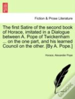 The First Satire Of The Second Book Of H
