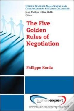 Wook.pt - The Five Golden Rules Of Negotiation