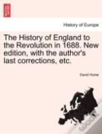 The History Of England To The Revolution
