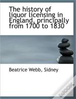 The History Of Liquor Licensing In Engla