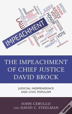 Wook.pt - The Impeachment Of Chief Justice David Brock