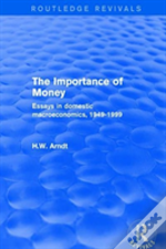 The Importance Of Money Essays In