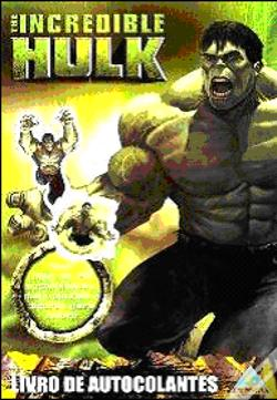 Wook.pt - The Incredible Hulk - Livro de Autocolantes