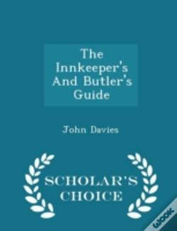 Wook.pt - The Innkeeper'S And Butler'S Guide - Sch