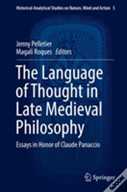 Wook.pt - The Language Of Thought In Late Medieval Philosophy