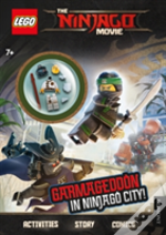 The Lego Ninjago Movie: Activity Book With Minifigure