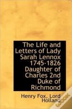The Life And Letters Of Lady Sarah Lenno