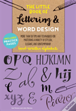 Wook.pt - The Little Book Of Lettering & Word Design