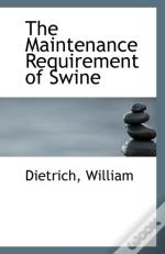 The Maintenance Requirement Of Swine