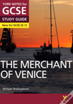 Wook.pt - The Merchant Of Venice: York Notes For Gcse (9-1)