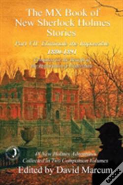 Wook.pt - The Mx Book Of New Sherlock Holmes Stories - Part Vii: Eliminate The Impossible: 1880-1891