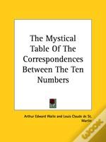 The Mystical Table Of The Correspondences Between The Ten Numbers