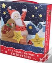 The Night Before Christmas Book And Puzzle Pack