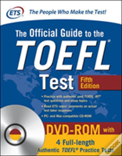 Wook.pt - The Official Guide To The Toefl Test