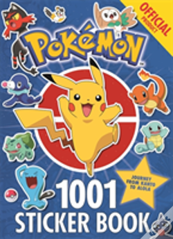 Wook.pt - The Official Pokemon 1001 Stickers