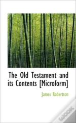 The Old Testament And Its Contents (Micr