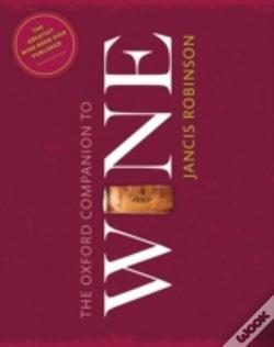 Wook.pt - The Oxford Companion To Wine