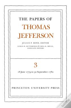 Wook.pt - The Papers Of Thomas Jefferson, Volume 3
