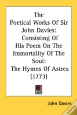 Wook.pt - The Poetical Works Of Sir John Davies: C