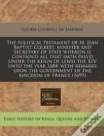 The Political Testament Of M. Jean Bapti