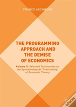 Wook.pt - The Programming Approach And The Demise Of Economics