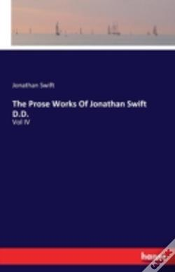 Wook.pt - The Prose Works Of Jonathan Swift D.D.
