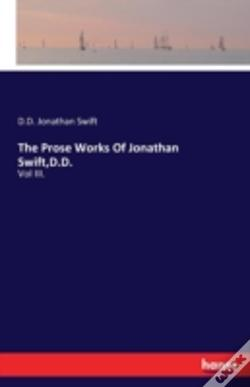 Wook.pt - The Prose Works Of Jonathan Swift, D.D.