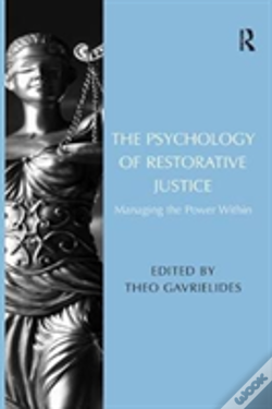 Wook.pt - The Psychology Of Restorative Justice