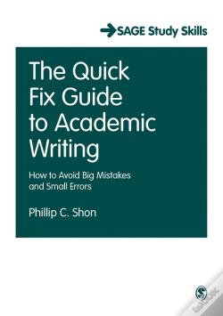 Wook.pt - The Quick Fix Guide To Academic Writing