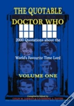 Wook.pt - The Quotable Doctor Who