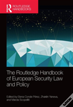 Wook.pt - The Routledge Handbook Of European Security Law And Policy