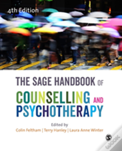 Wook.pt - The Sage Handbook Of Counselling And Psychotherapy