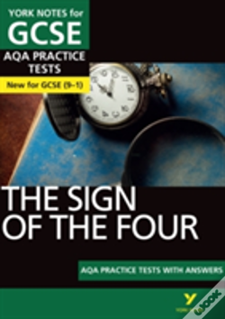 Wook.pt - The Sign Of The Four Aqa Practice Tests: York Notes For Gcse (9-1)