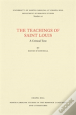 The Teachings Of Saint Louis