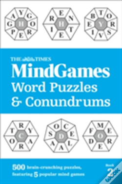 Wook.pt - The Times Mind Games Word Puzzles And Conundrums Book 2