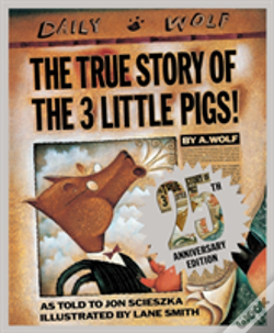 Wook.pt - The True Story Of The Three Little Pigs