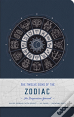 The Twelve Signs Of The Zodiac Hardcover Ruled Journal