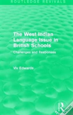 Wook.pt - The West Indian Language Issue In British Schools (1979)