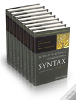 Wook.pt - The Wiley Blackwell Companion To Syntax, 8 Volume Set