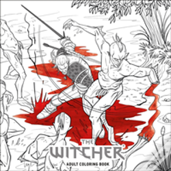 Wook.pt - The Witcher Adult Coloring Book