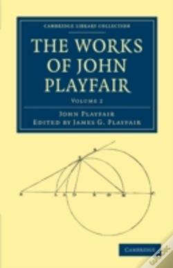 Wook.pt - The Works Of John Playfair